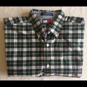 Tommy Hilfiger Shirts - Tommy Hilfiger Vintage 90s Plaid Button Down Shirt
